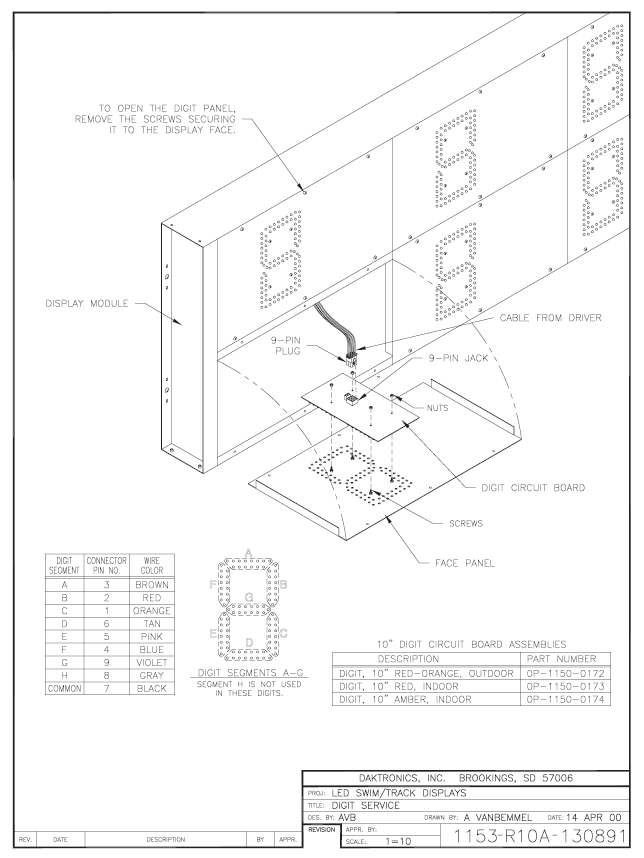 Installation schematic