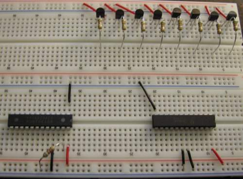 base resistors with IC